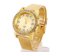 Woman's Watches Exquisite Series Gold Watch Strap Watch