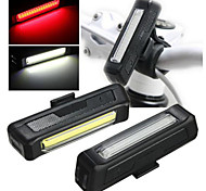 Comet USB Rechargeable Bicycle Helmet Lamp Handlebar Frame Tube Flashing 6 Mod lights 2 Light Emitting Colors Available