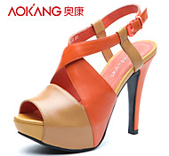 Aokang® Women's Leather Sandals - 132811013