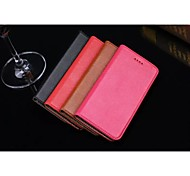For iPhone 6 Case / iPhone 6 Plus Case with Stand Case Full Body Case Solid Color Hard Genuine Leather iPhone 6s Plus/6 Plus / iPhone 6s/6
