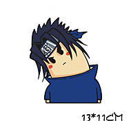Funny Sasuke Car Sticker Car Window Wall Decal Car Styling