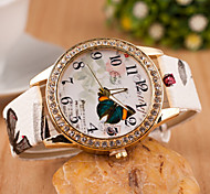 Woman Butterfly Wrist  Watch