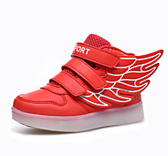 Boys' Shoes Outdoor / Athletic / Casual Fashion Sneakers Blue / Red / White