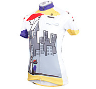 ilpaladinoSport Women Short Sleeve Cycling Jersey New Style Distinctive  DX601  await 100% Polyester