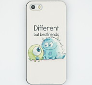 iphone 7 плюс разные, но лучший друг модели ПК жесткий задняя крышка чехол для iPhone 5 / 5s
