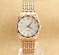 Fashion Women's watches Strip Quartz Crystal Gold watches montre femme