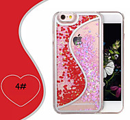 Creative Double Color Double Heart Type S Quicksand Cases for iPhone 6 Plus/iPhone 6S Plus(Assorted Colors)