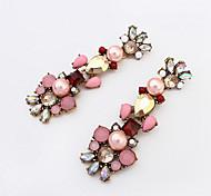 European Style Fashion Beautiful Rhinestone Earrings