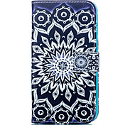 Mandala Leather Wallet for Samsung Galaxy J1 J5