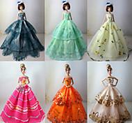 Barbie Doll - Abiti - Stile Principessa - di Organza - Multicolore - Abiti