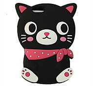 ZIQIAO Cartoon Cat Style Protective Soft Silicone Back Case for IPHONE 6 / 6S