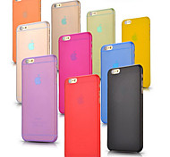 VORMOR®Ultra Thin Frosted Solid Case for iPhone 6/6S (Assorted Colors)
