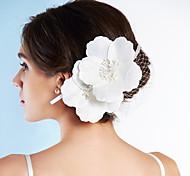 Damen Kopfschmuck Hochzeit/Besondere Anlässe Kopfschmuck/Blumen Satin/Netz Hochzeit/Besondere Anlässe 1 Stück