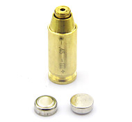 CAL: 45 Red Dot Laser Sight Bullet Shaped Bore Sighter Cartridge Boresight