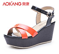 PU sandales femmes aokang® - 132823211