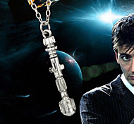 European Style Fashion Personality Creative Sonic Screwdriver Necklace