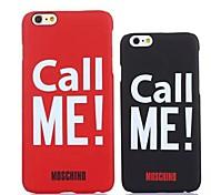 namoradas alta qualidade me chamar caso padrão para iphone 6 mais (cores sortidas)