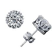 schönes, elegantes 18 k Gold Diamant-Ohrstecker