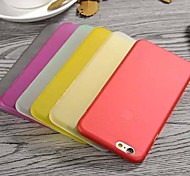 Ultra-Thin Touch Series Frosted PC Material Phone Case for iPhone 6/6S (Color Optional)