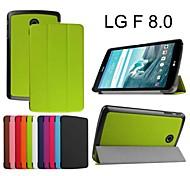 protettivo casi tablet cuoio della staffa casi fondina per lg g pad f 8.0
