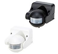 ir poupança de energia sensor de movimento infravermelho de controle de luz automático alternar ângulo ajustável tempo de atraso