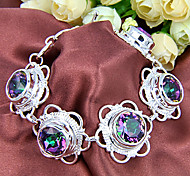 Chain Bracelets 1pc Geometric Silver Silver Plated Jewelry Gifts
