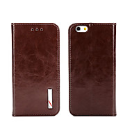 Top Grade Business Genuine Flip Leather for iPhone 5/5S