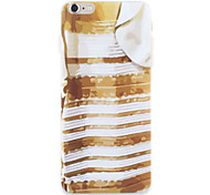 Blue and Gold Graffiti Stripe Sell Like Hot Cakes PC for iPhone 6 Plus/6S Plus