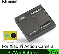 KingMa 3.7Wh 1010mHA Battery For Xiaomi Yi Battery Sports Camera Super Excellent Material Battery