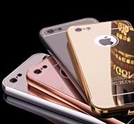 Metallrahmen und Plattierung Rückwand 2-in-1 Plattierung Handyfall für iphone 6 / 6S (verschiedene Farben)