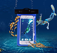 "Underwater Bag Waterproof Dry Pouch Protector Case for iPhone 6 Case 5.5"" and Other Phones (Assorted Colors)"
