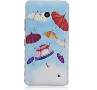 Small Umbrella Pattern Material TPU Phone Case for Nokia N640