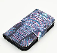 Newest Flip Cover Colored Drawing Card slot Support Fashion PU Mobile Phone Shell for Samsung J1/J2/J5/G360 CORE Prime