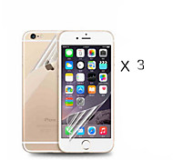Front and Back HD Screen Protector for iPhone 6 /6s (3PC)
