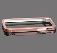 ROCS New Fashion PC + TPU Bubper + Transparent back Cover Case for Apple iPhone6  / 6S