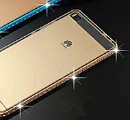 TPU With a Metal Frame With A Metal Frame To Protect The HUAWEI P8 Mobile Phone