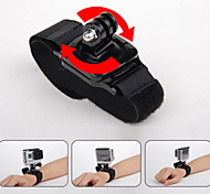 Gopro Accessories 360 Degrees Wrist Strap with Go Pro For GoPro Hero4 3+ 3 Xiaomi Yi Sj4000