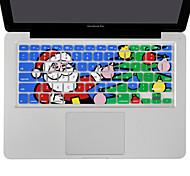 silicona navidad XSKN padre piel cubierta de teclado para MacBook Air 13, MacBook Pro sin retina 13 15 17, nosotros diseño