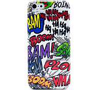 Bam Boom Doodle Pattern Glossy Plastic Back Case for iPhone 5c