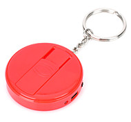 Fly Eagle FE808 USB Rechargeable Electronic Cigarette Lighter Keychain - Red