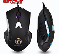 ESTONE GT700 USB Wired LED Lighting Gaming Mouse USB 3.0 for PC