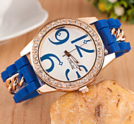 Woman Personal Digital Diamond  Wrist  Watch