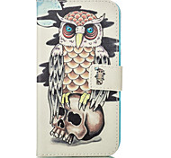 Owl Leather Wallet for Samsung Galaxy J1 J5