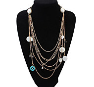European Style Fashion Wild Multilayer Necklace