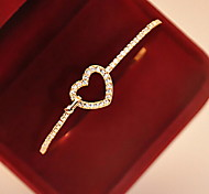 New Fashional Rhinestone Heart Bracelet Christmas Gifts
