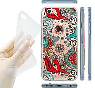 maycari®girls Träume transparente TPU Tasche für iPhone 6 / iphone 6s