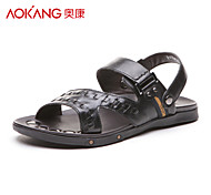 Aokang® Men's Leather Sandals - 121723105