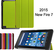 Protective Tablet Cases Leather Cases Bracket Holster for  Amazon New fire 7