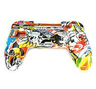 repuestos controlador caso del doodle PS4 para controlador PS4