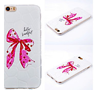 Plus iphone6 butterfly knot pattern 3D mobile phone shell